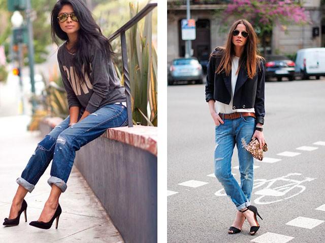 Модные образы весна 2018 на каждый день:образ с джинсами и кофточкой и жакетом