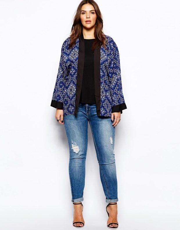 Модные образы весна 2020 на каждый день: с джинсами и кофточкой и пальто