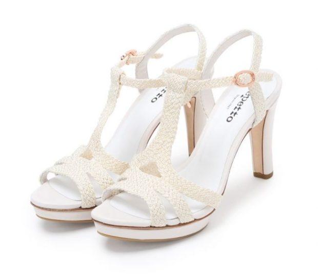 Модные туфли 2018-2019 фото: белые на каблуке