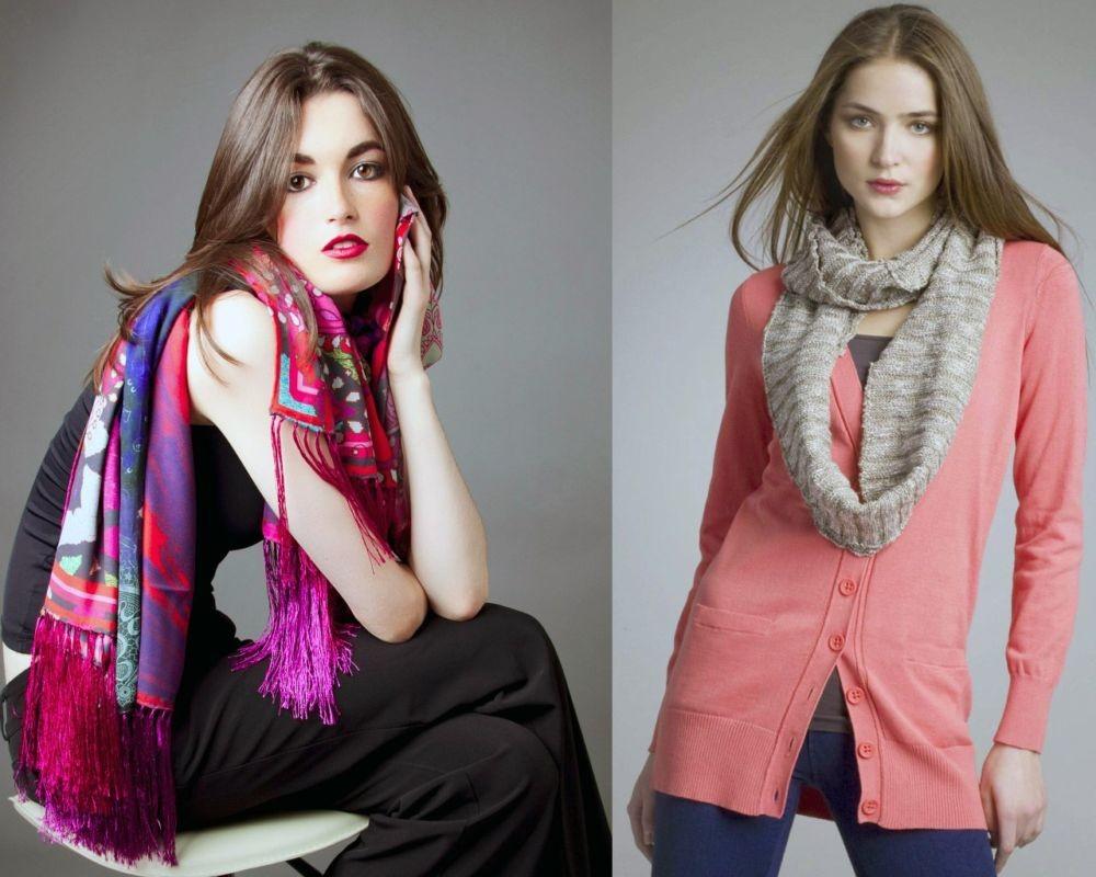 Красивые и модные шарфы 2019-2020
