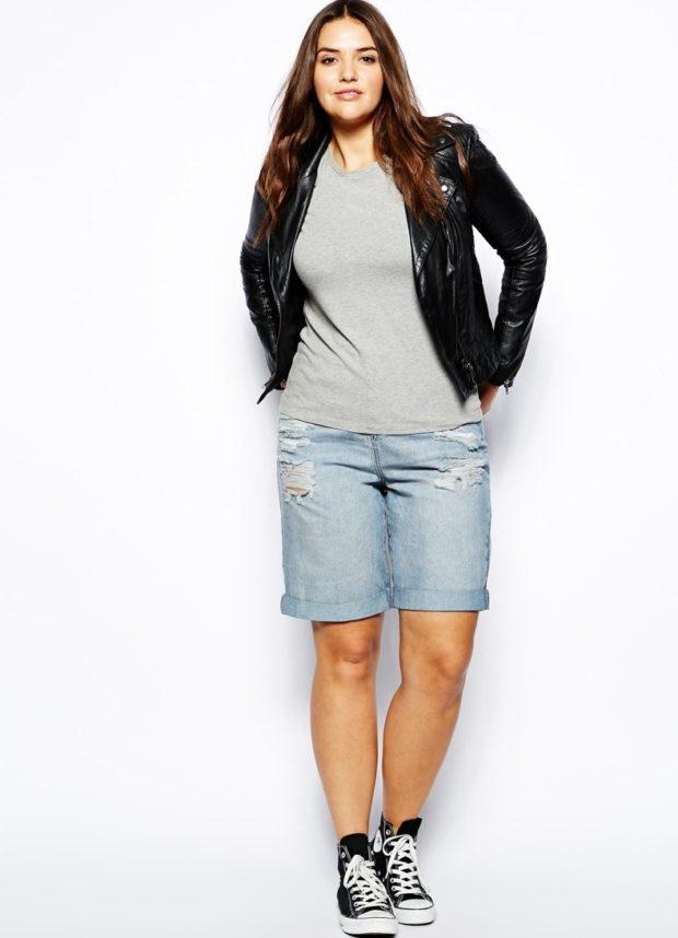 удлиненные джинсовые