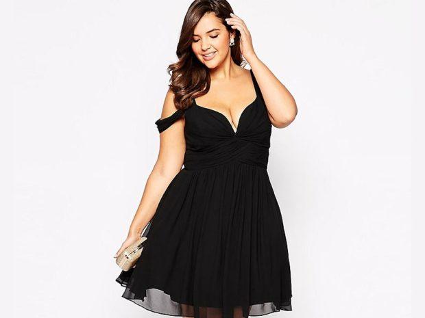 платья на выпускной 9 класс самые красивые: короткое черное