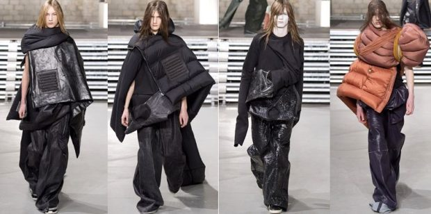 Пуховики с чем носить: экстравагантные куртки