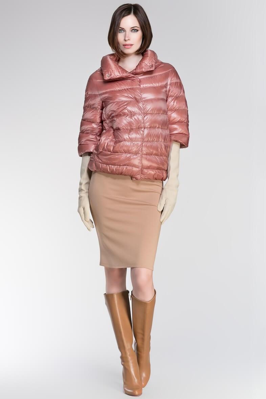 Пуховики с чем носить: короткие рукава под длинные перчатки юбка-карандаш