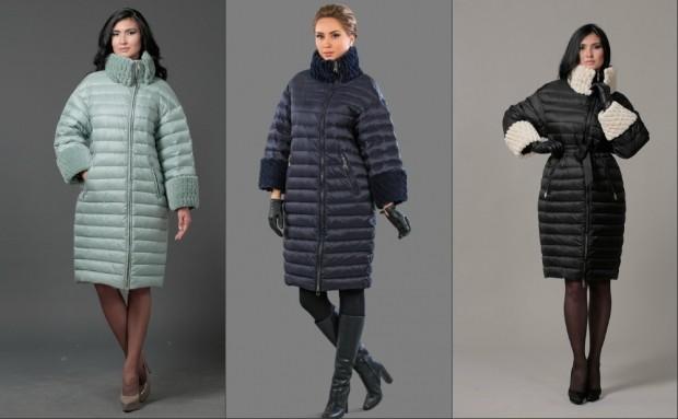 Пуховики с чем носить: средняя длина под платья юбки