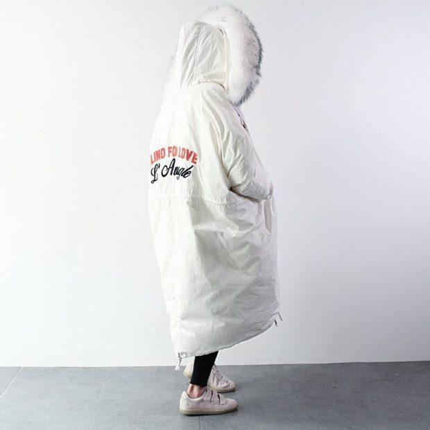 с чем носить пуховик одеяло