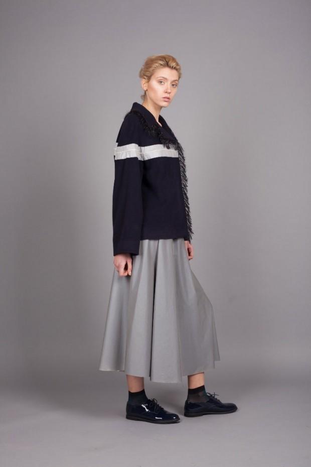 с чем носить серую юбку: юбка серая миди под кофту спортивную