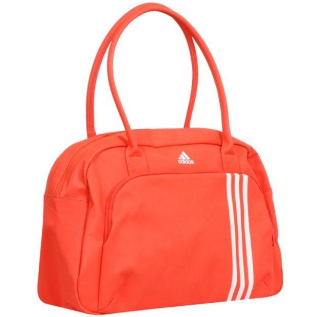 Спортивная сумка оранжевого цвета