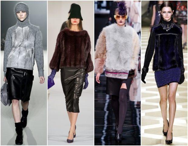 Модные свитера 2019-2020: серого коричневого черного цвета