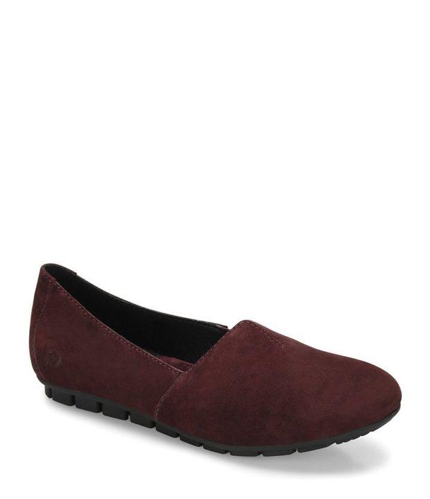 модные туфли без каблука 2018-2019
