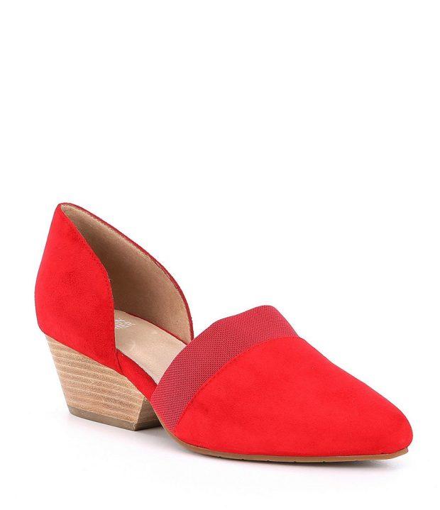 красные туфли 2018-2019