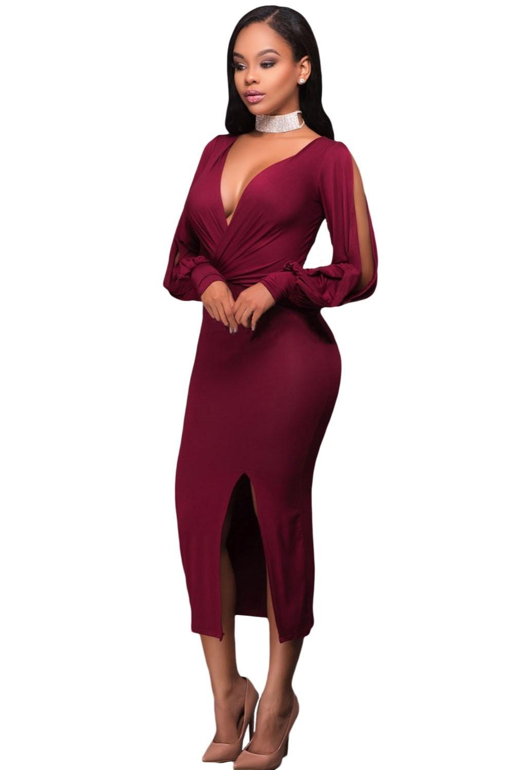 Вечерние платья 2019 фото новинки короткие на выпускной: платье ампир с откровенным лифом,бордового цвета