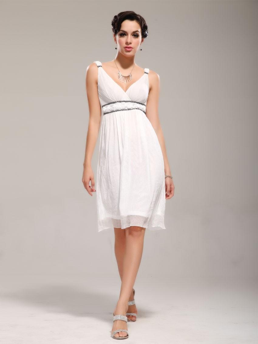 Вечерние платья 2019 фото новинки короткие на выпускной: платье ампир,белого цвета