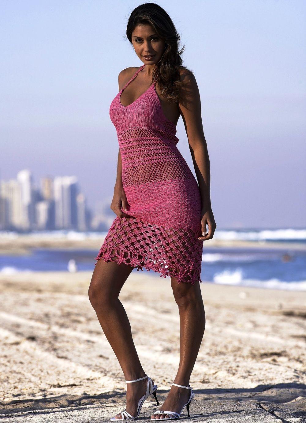 платье розовое сарафаном летнее