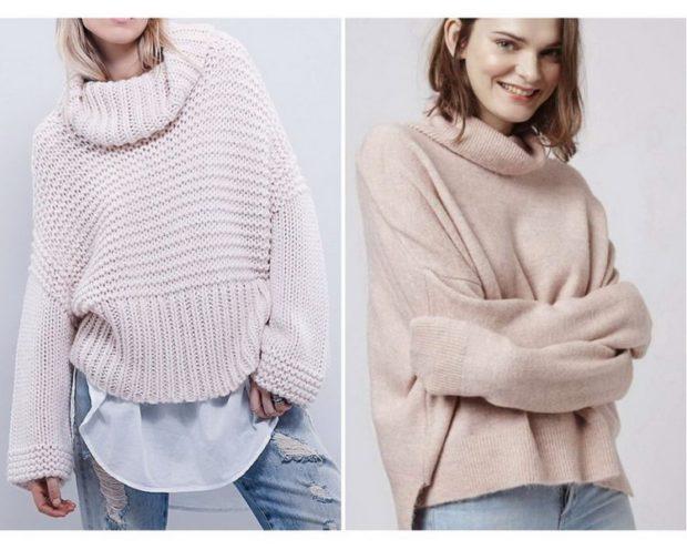 смотри модные женские свитера 2019 2020 года 169 фото новинки
