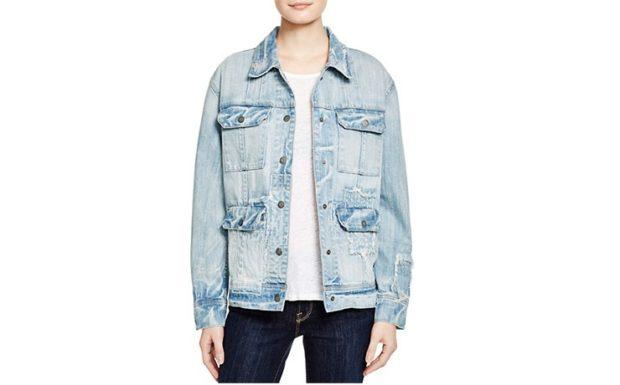 пиджаки женские модные в 2018 году: джинсовый потертый оверсайз
