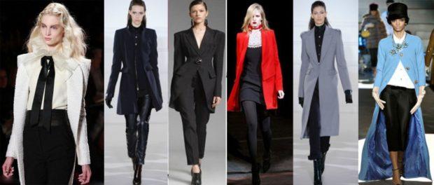 женский пиджак 2019-2020 года модные тенденции: длинный белый синий черный красный серый голубой