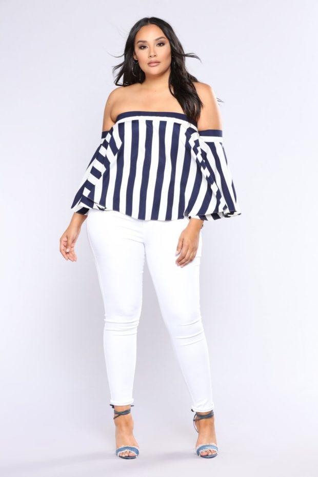 какие джинсы носить с широкими бедрами