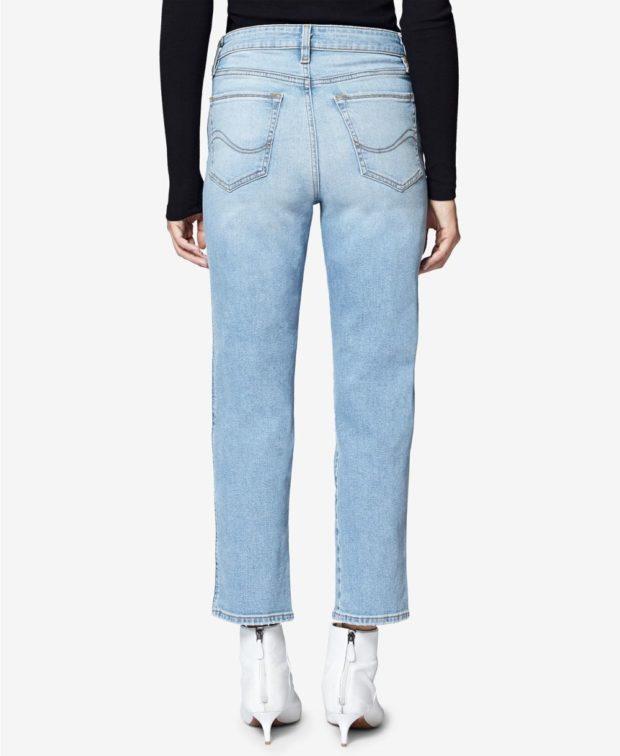 джинсы бананы 2018-2019: голубые