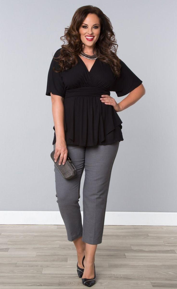 брюки чиносы серые под блузку черную