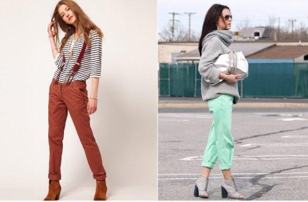 брюки чиносы с чем носить фото