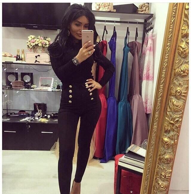 брюки высокая талия черные с пуговицами под рубашку