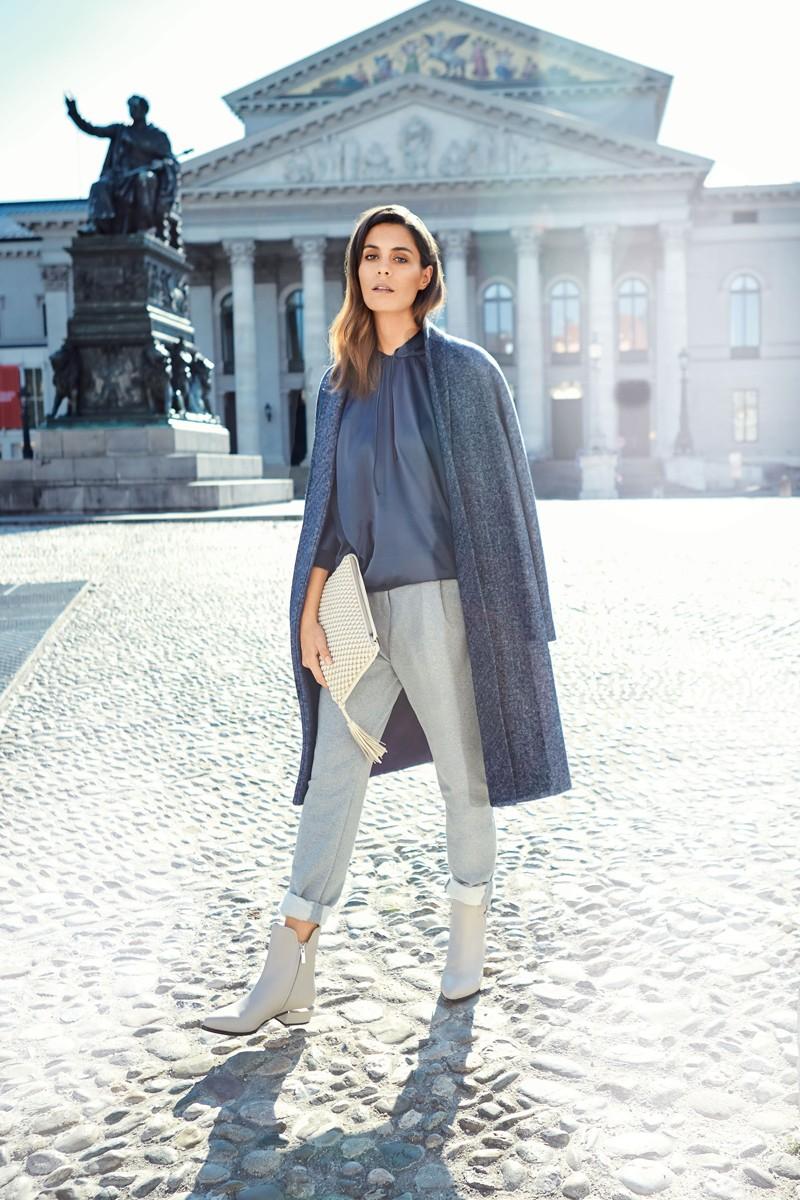 брюки с завышенной талией с чем носить