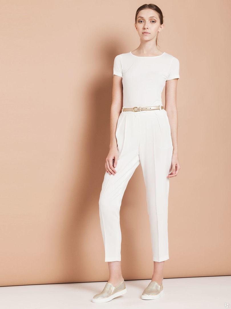 брюки высокая талия под кеды низкий ход