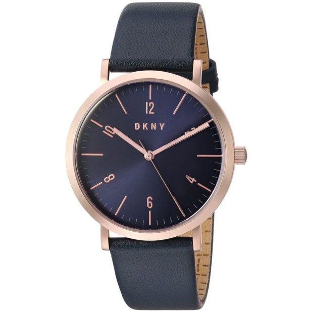 Классические женские часы черный ремень с цифрами