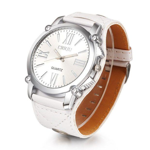 модные женские часы: унисекс белые цифры римские