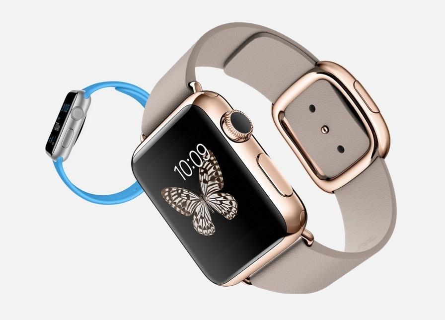 часы с квадратным циферблатом и серым ремешком