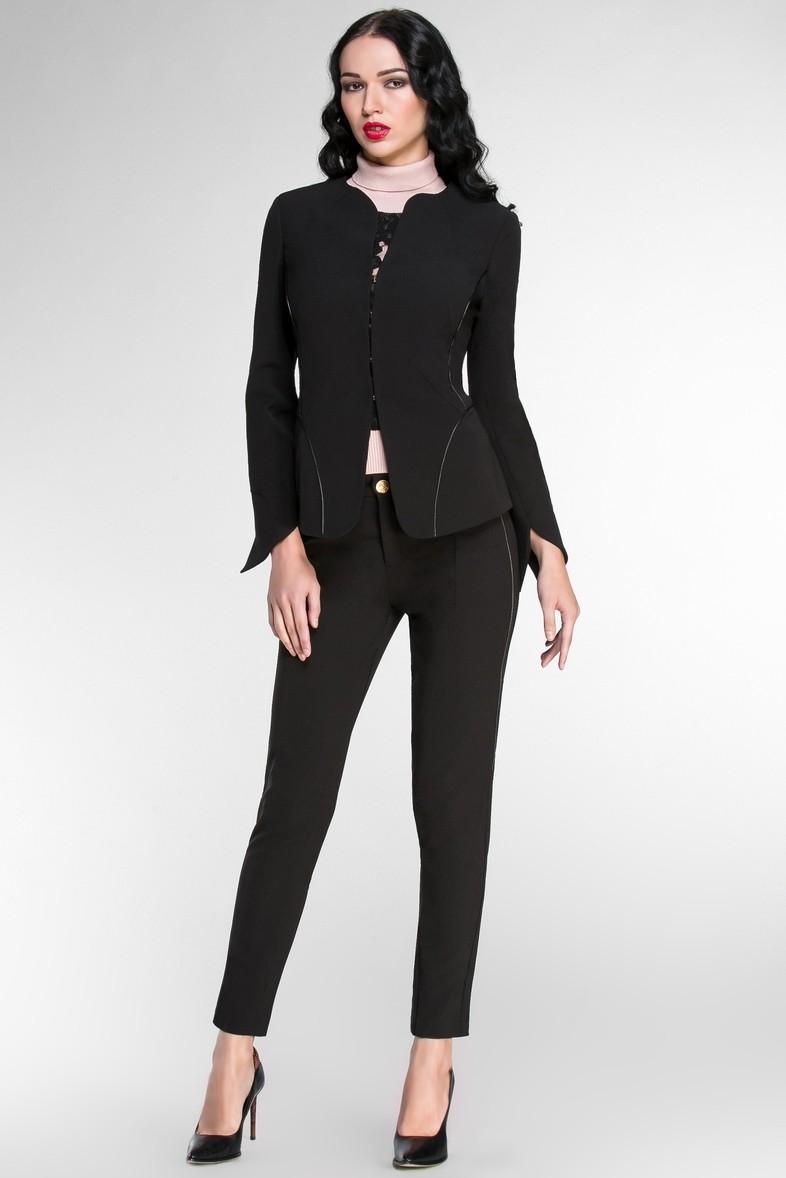 костюм брючный черный пиджак+брюки