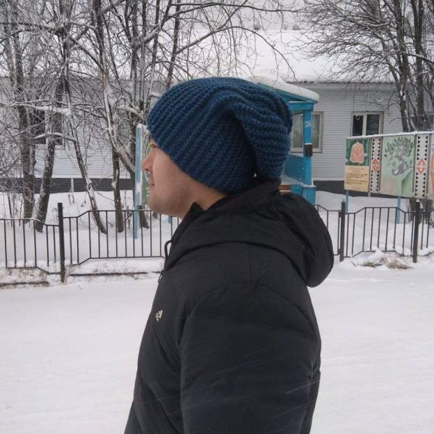 Головной убор мужской осень зима