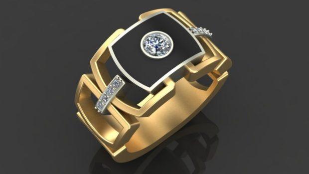 на каком пальце носят перстень мужчины: золотой с камнями