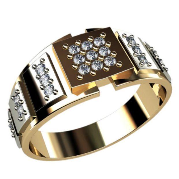 как правильно носить перстень мужчине: золотой с россыпью камней