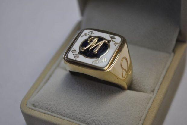 как правильно носить перстень мужчине: золотой с инициалами