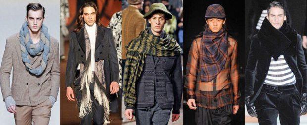 Как носить: шарф канат вокруг шеи длинный с бахромой в клетку большой в клетку как косынка хомут меховой