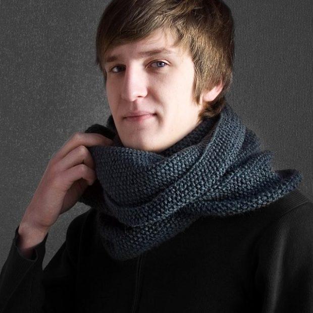 как носить шарфы мужчине фото