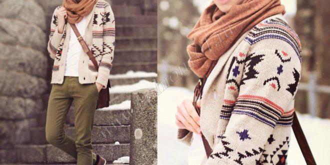 Как носить шарф мужчине