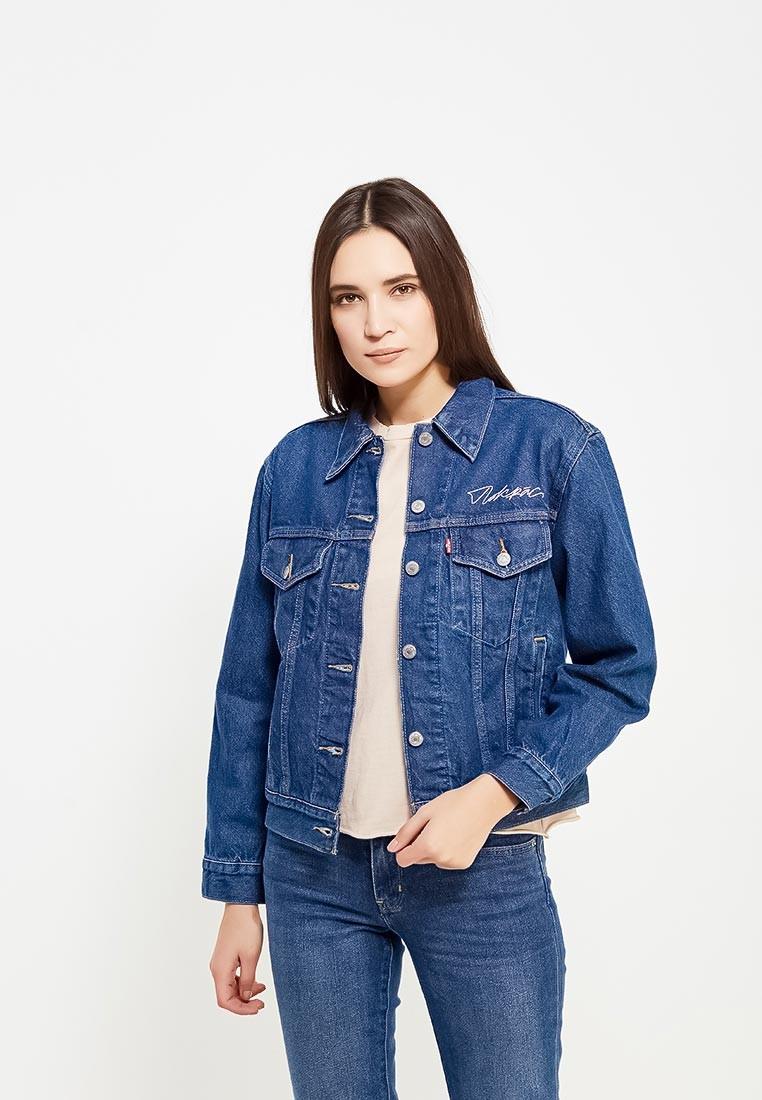 джинсовый костюм синий