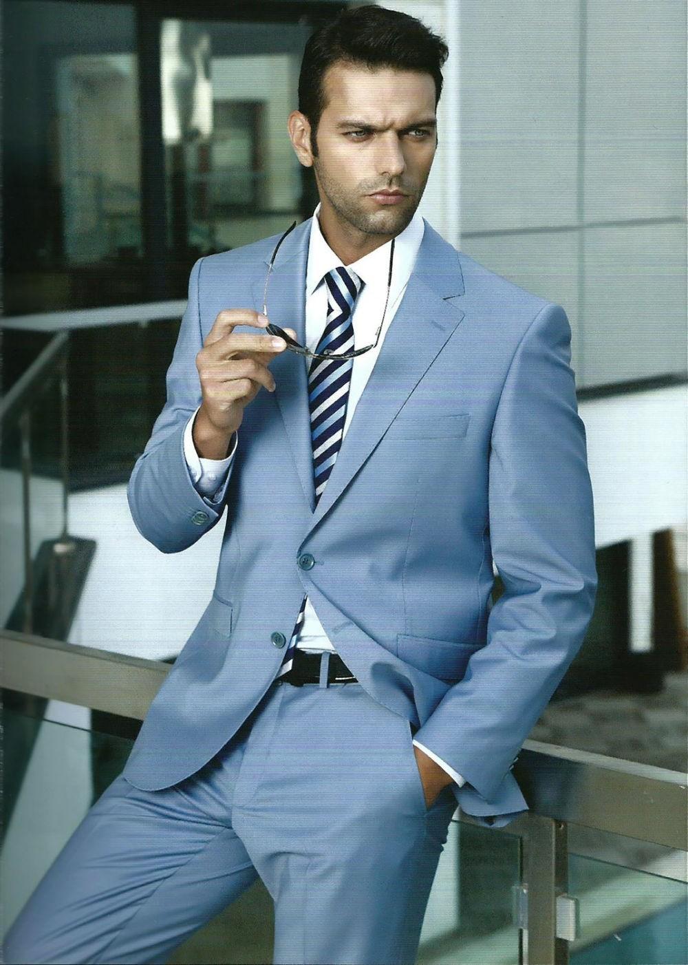 костюм классика синий