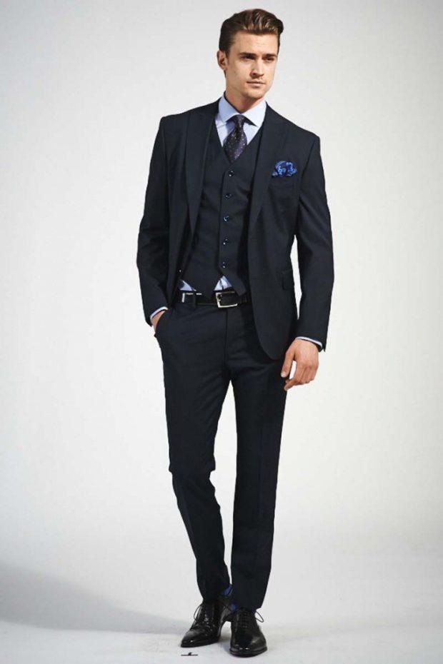 409f55b5137 Смотри! Костюм на выпускной для парня 2018-2019 151 фото как одеться