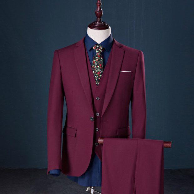 костюм тройка марсаль