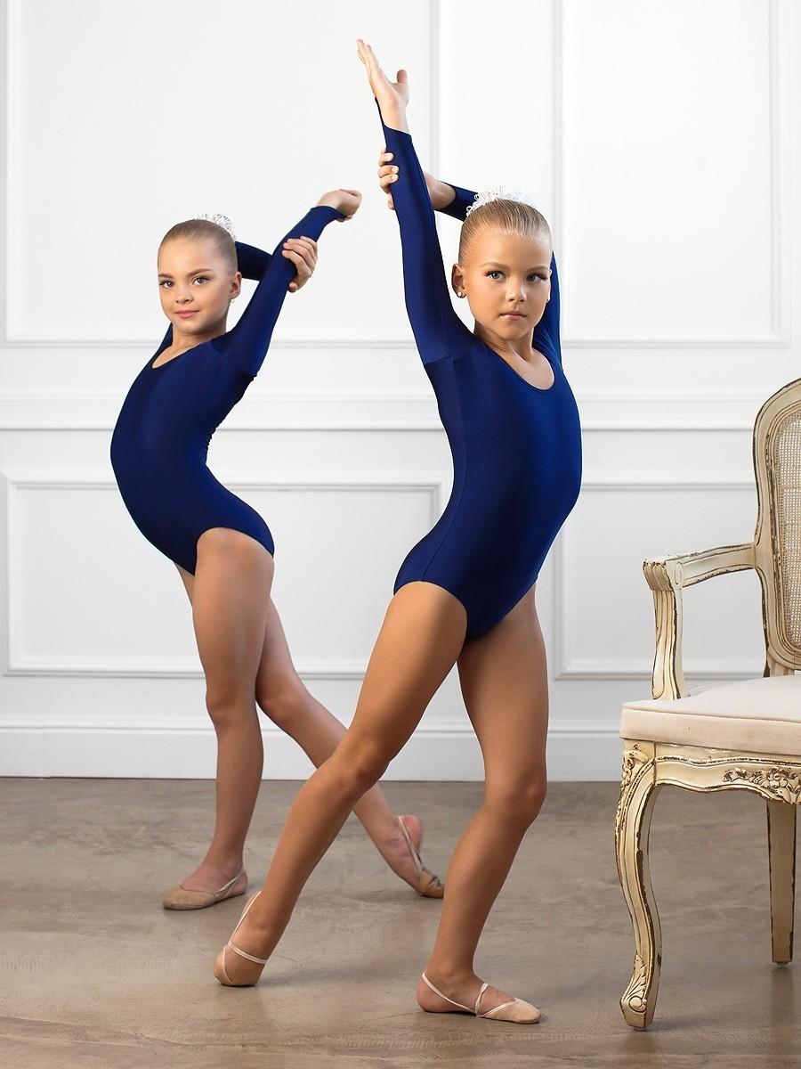 купальники синие тренировочные рукава длинные