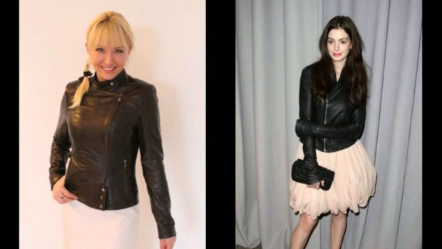 Модные куртки 2018 2019: косуха черная