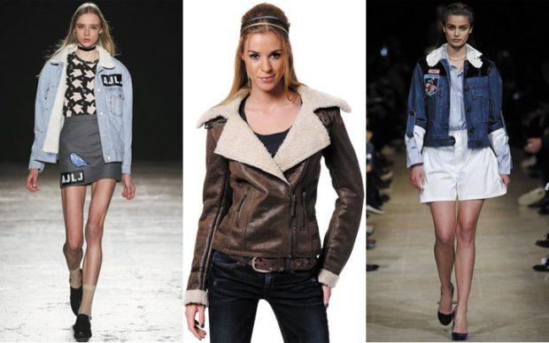 Куртки 2018 2019: джинсовка короткая