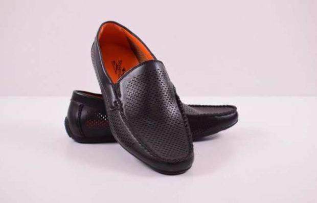 туфли черные в сетку