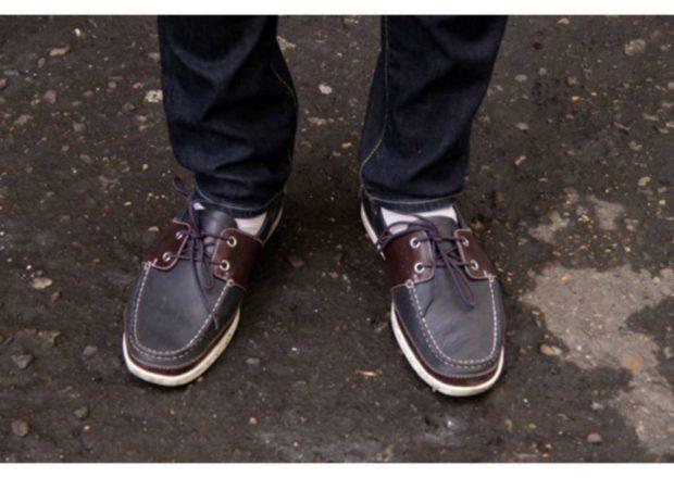 туфли коричневые со шнурками