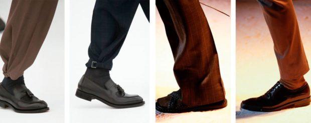 туфли черные серые коричневые