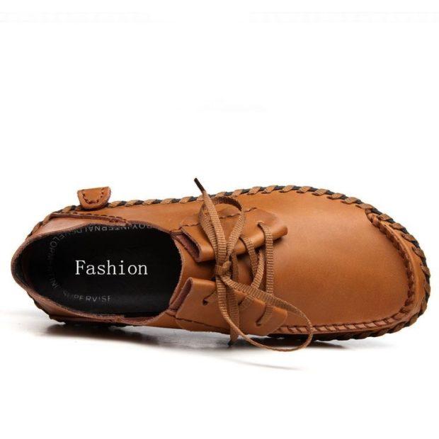 Driving Shoes коричневые кэжуал